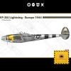 P-38J Lightning - Europe 1944 1:72 Model Kit