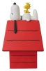 Peanuts VCD Vinyl Figure Snoopy, Woodstock & Dog House