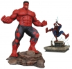 Red Hulk & Spiderman PVC Figures