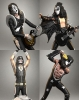 Rock Iconz The Kiss ALIVE! Statues