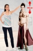 STAR WARS - Slave LEIA BIKINI LIFESIZED Stand up