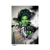 Sideshow: She-Hulk by Mike Mayhew Art Print