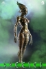 "ThreeZero: Species 12"" Figure - Sil"