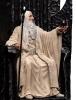 Weta: LOTR Saruman the White on Throne