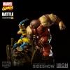 Wolverine vs Juggernaut 1/6 Diorama