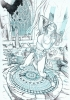 Zenscope Ent: Quest # 1 Original Cover art