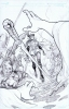 Zenscope Ent: Quest Age of Darkness # 5 Original Cover art